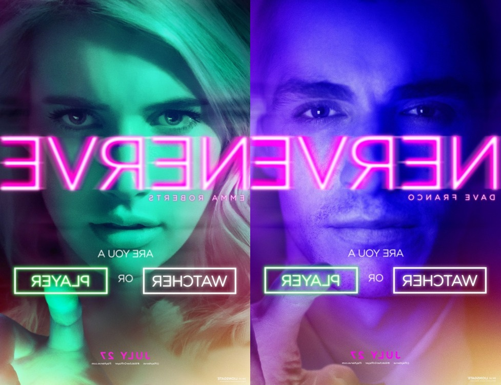 A poster of the film Nerve